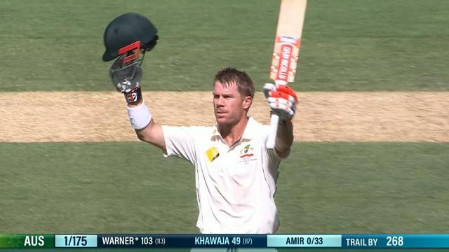 David Warner makes hay after no-ball gives him a second chance at MCG