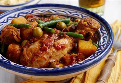 Budget-friendly tagine with couscous