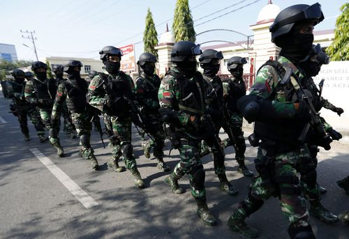 Indonesia has deployed large numbers of security forces to West Papua amid reports of human rights abuses by soldiers.