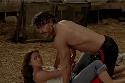Alcide (Joe Manganiello) and Rikki's (Kelly Overton) werewolf sex in season six was pretty full-on...