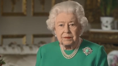 Queen Elizabeth television address colour choice