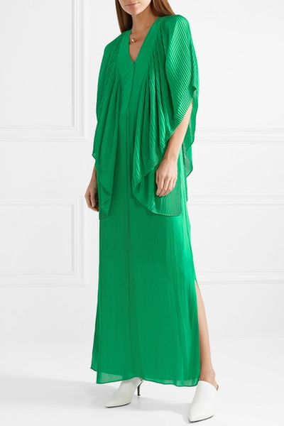 "Pick a maxi dress for maximum impact<br> <br> <a href=""https://www.net-a-porter.com/au/en/product/1040403/by_malene_birger/middanna-draped-plisse-chiffon-maxi-dress"" target=""_blank"">By Malene Birger maxi dress, approx.$510.30 at Net a porter</a>"