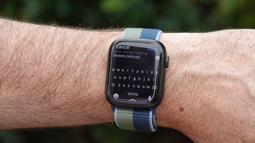 Apple's latest generation Apple Watch - the Series 7 - takes a big leap forward in screen technology.