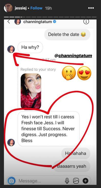 Jessie J and Channing Tatum