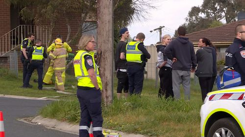 A man has been charged with murder after a body was discovered in the ruins of a regional Victorian house fire.