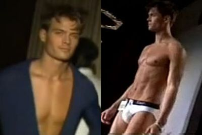 All we can say about Josh Duhamel's modelling career is that his Black Eyed Peas wife Fergie is one lucky lady indeed.