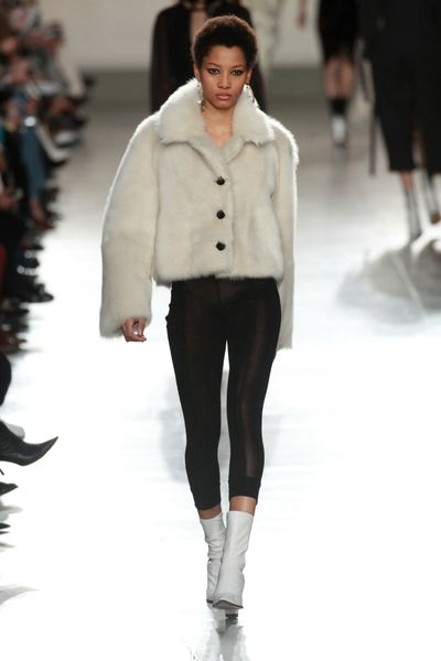 <p>In the chill of an Autumn morning, the sky still dark, there's nothing you want to do more than stay warm under the covers.</p><p>Of course, you can't stay under there forever, but you cankeep that feeling alive with fashions current fixation. Introducing: shearling. It's time to get touchy-feely.</p>