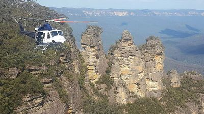 Canyoning party found after going missing overnight in Blue Mountains