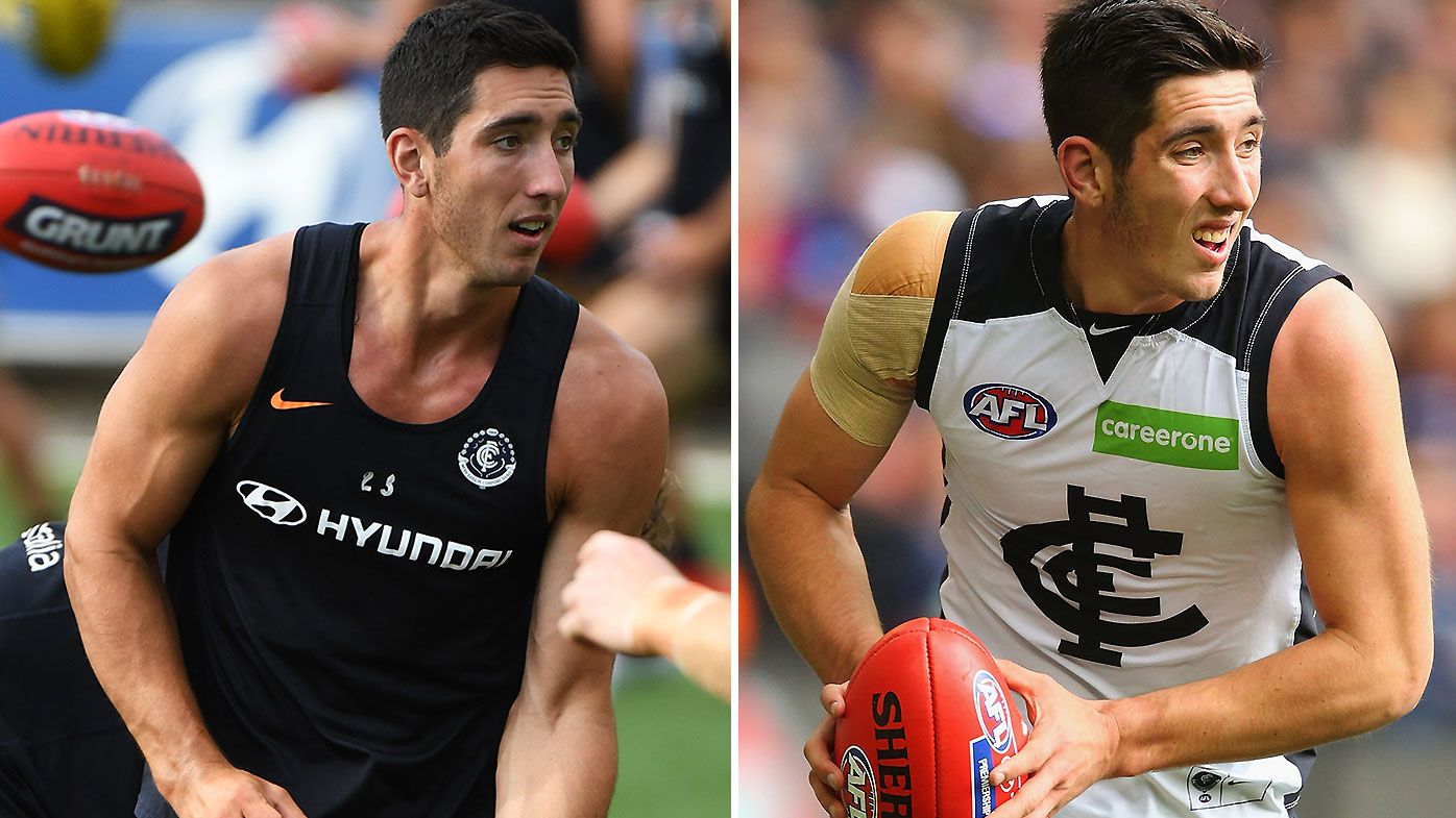 Carlton expecting breakout season from 'physical beast' Jacob Weitering