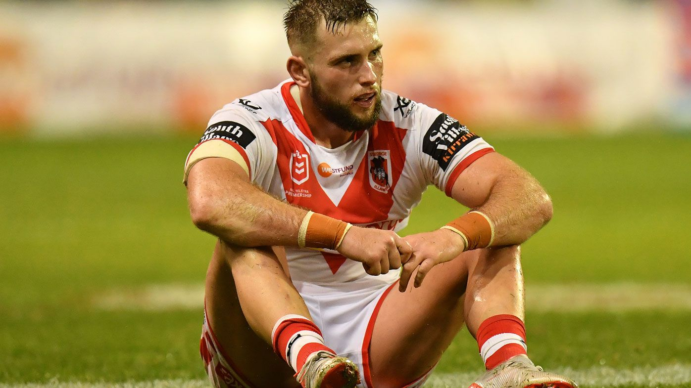 'They're gone': Dragons great Jamie Soward writes off club's finals hopes after loss to Storm