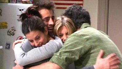 Friends TV show hug