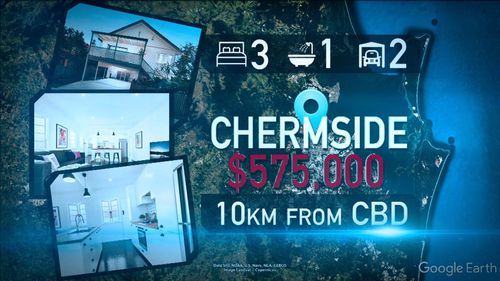 Houses in Brisbane can cost less than half of similar houses in Sydney.