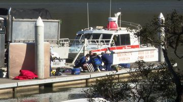 NSW toddler found floating Hawkesbury River fighting for life hospital news Sydney 190709