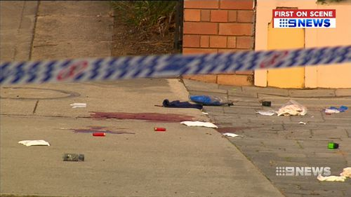 A man has been shot by police at a petrol station in New South Wales' south-east after allegedly firing towards officers.
