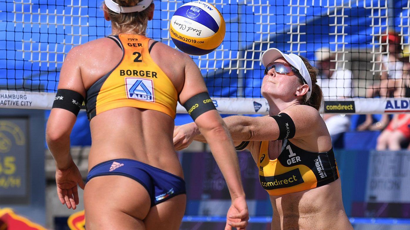 German beach volleyball stars to boycott tournament over bikini ban