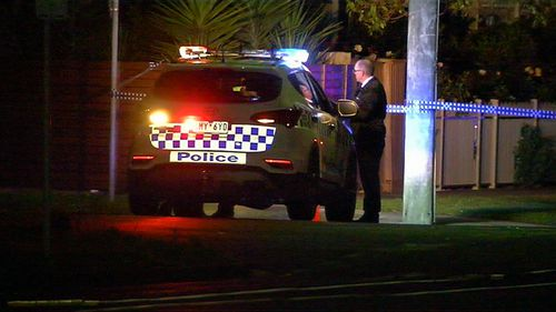 The man had been walking home from a night out with friends when he was hit by the vehicle on Yarra Street at about 3.15am.