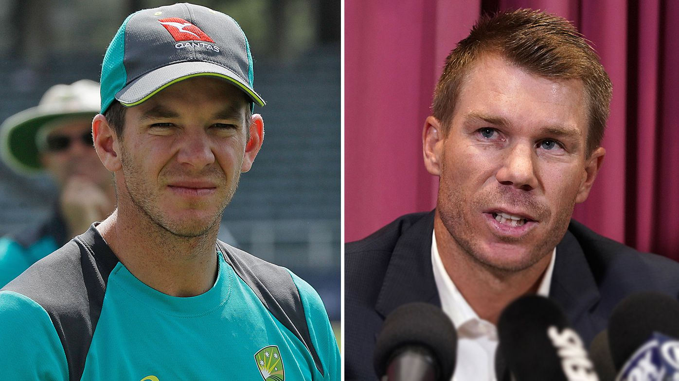 Tim Paine and David Warner