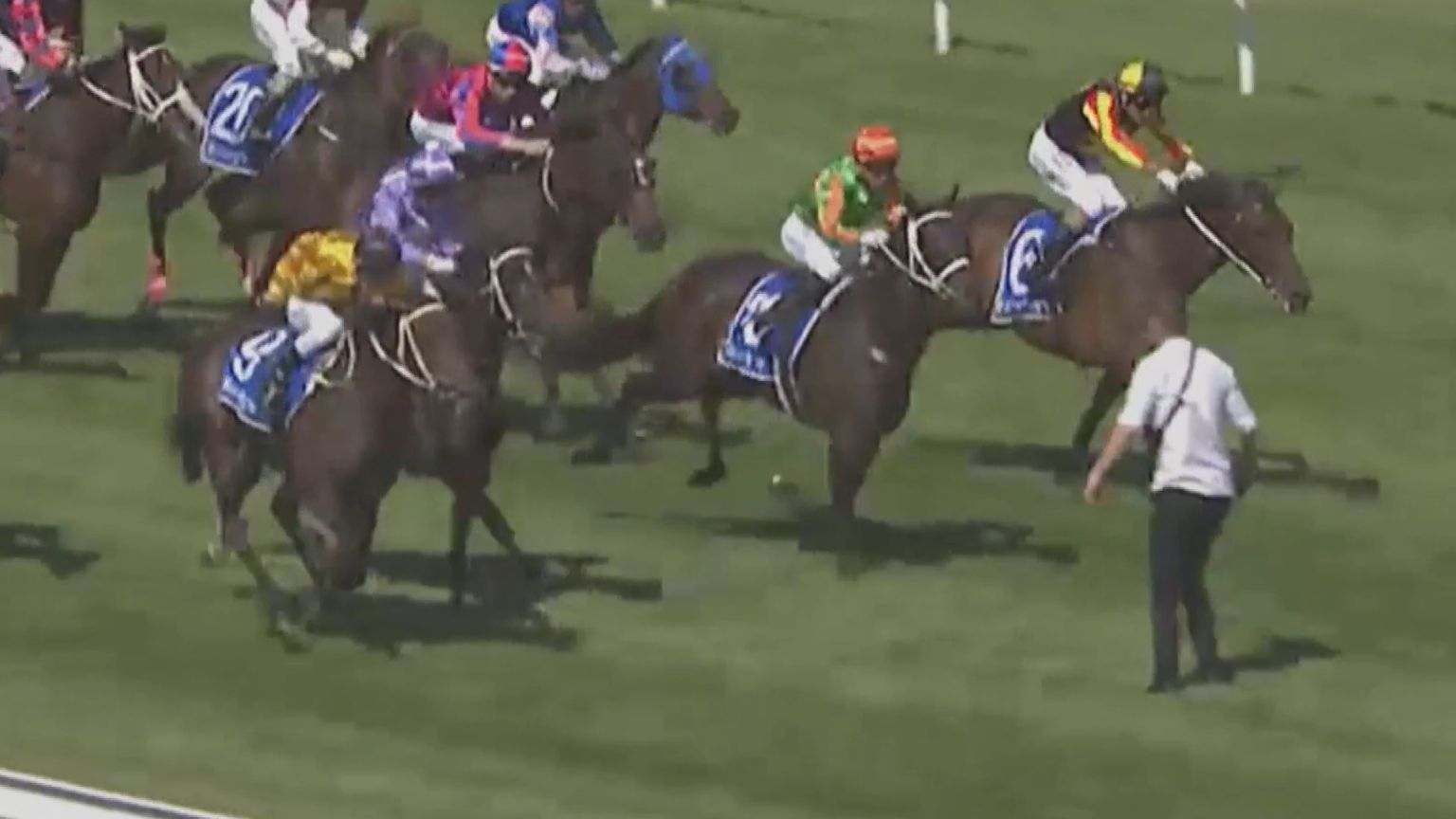 Horse racing's image damaged again by cruel dead horse video