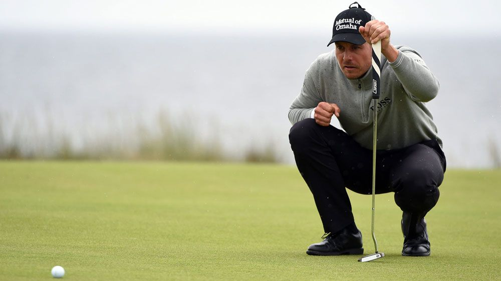 Defending champion Henrik Stenson had his house burgled during the opening round of the British Open.