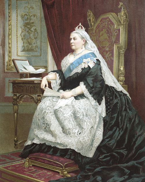 Jubilee of Queen Victoria in 1887. (Getty)