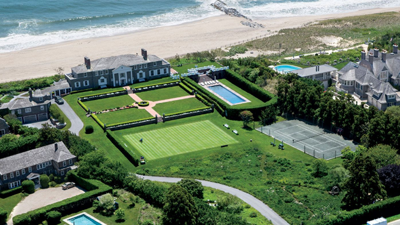 Blue-chip property such as mansions in the Hamptons, near New York, are at risk.