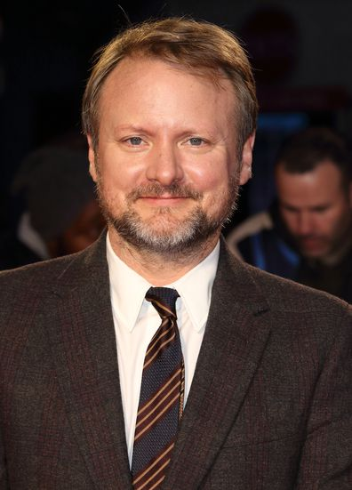 Director Rian Johnson at the London Film Festival screening of Knives Out