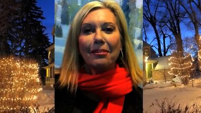 Olivia Newton-John cameo in Richard Marx 2012 Christmas Spirit music video