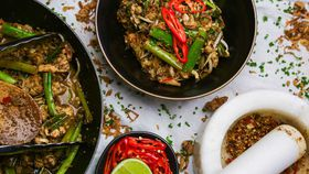 Family Food Fight: the Giles' Malaysian Cauliflower Stir Fry