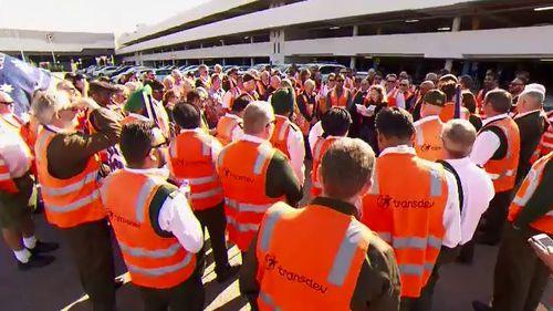 Bus drivers strike leaves passengers in limbo