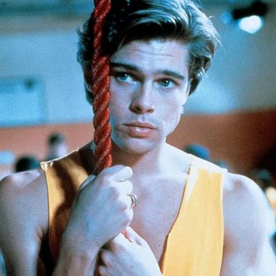 Brad Pitt in <em>Cutting Class</em> (1989)
