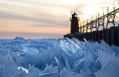 Michigan Ice Shards