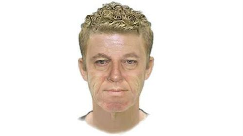 A computer-generated image of the man police wish to speak to. (Victoria Police)