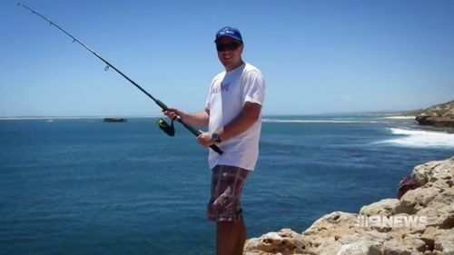 Spear-fisherman John Craig. (9NEWS)