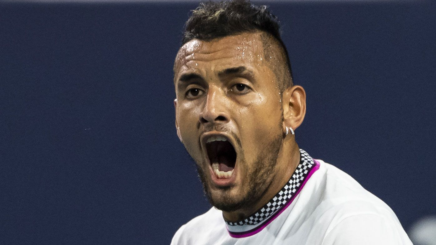 Nick Kyrgios makes explosive exit from Miami Open, losing to Borna Coric