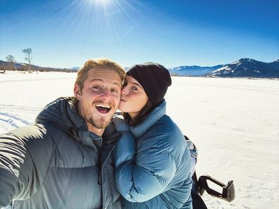 Vikings star Alexander Ludwig, fiancée Lauren Dear, wedding, elope, Utah