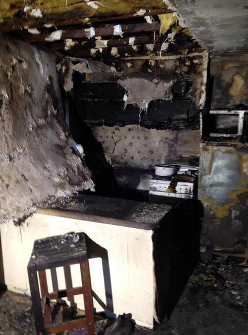 The cost of repairs has been estimated at $150,000 after the blaze was sparked by a gas stove in the kitchen. (9NEWS)
