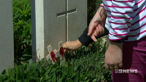 They were the last Australian soldiers to be killed in ground combat on the Western Front. (9NEWS)