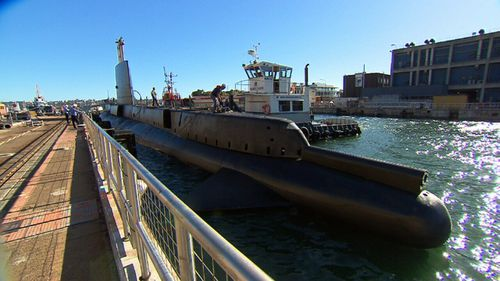 This year marks her 50th birthday with the aging, rusty submarine getting some much-needed attention with a $1 million make-over. (9NEWS)