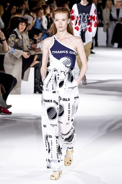 Stella McCartney, spring/summer '17, Paris Fashion Week