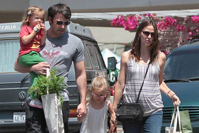 Ben Affleck and Jennifer Garner welcomed their first son, Samuel, in February. The couple already have two daughters, Violet and Seraphina.