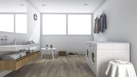 Ultra modern laundry washing machine dryer