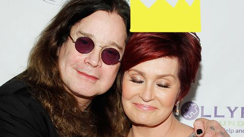 Sharon Osbourne thinks of the Queen while having sex with Ozzy