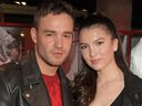Liam Payne and Maya Henry attend the Hugo X Liam Payne Bodywear Campaign party at Flannels on December 4, 2019 in London, England.