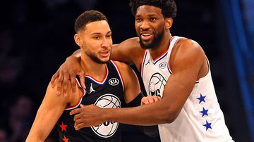 What Simmons learnt from historic All-Star debut