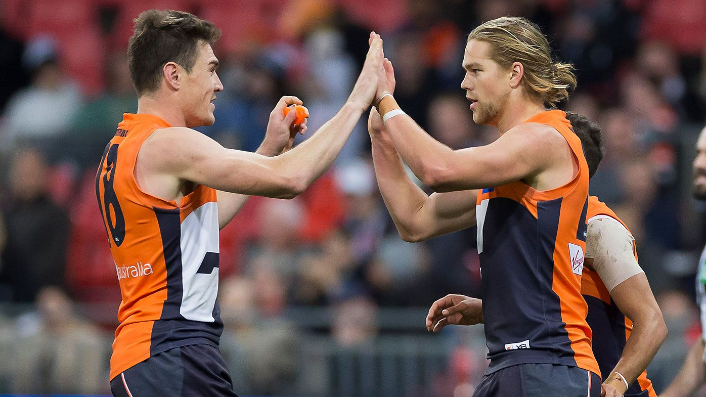 Jeremy Cameron and Harry Himmelberg unstoppable as Giants dismantle Collingwood