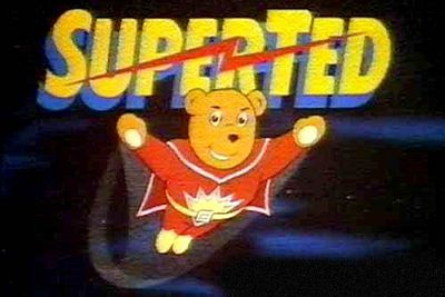 <B>Ran from:</B> 1982 to 1986<br/><br/><br/><B>Why it's awesome:</B> Superted sounds like it was created by someone on an epic drug trip (a broken teddy bear is brought to life by a spotty alien's cosmic dust, and taken to a magic cloud where Mother Nature gives him special powers — WTF?), but that's exactly what made this show so memorable. Only a handful of 10-minute episodes were produced, but the show became a cult classic.