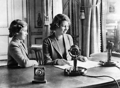 Princess Elizabeth at Buckingham Palace, October 12 1940
