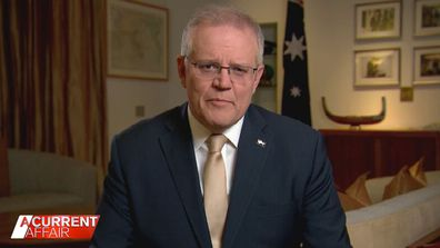 Prime Minister says Australia will have to 'live with this COVID just like we do with the flu'.