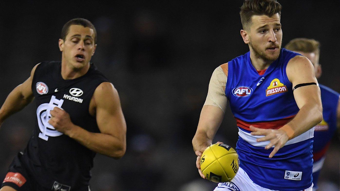 Bontempelli beats bad back to star in AFL