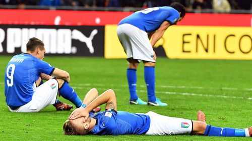 The Italian team will miss the World Cup for the first time in more than 60 years.